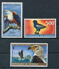 Senegal 243 + 383 + 586 postfrisch / Greifvögel ..........................1/1170