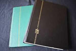 2x Empty Stockbooks, 99p Start