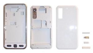 Façade / Coque / Cover (Blanc) + Clavier ~ Samsung S5230 Player One