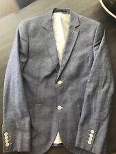 Topman Light Blue Day Fall Blazer Jacket  Size 40