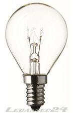 Tropfenlampe 230V 60W E14 klar 45x70mm Glühbirne Lampe Birne 230Volt 60Watt neu