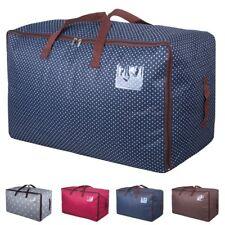 Large Zipper Storage Bag Waterproof Clothes Quilt Blanket Folding Organizer