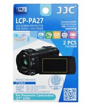 """JJC Lcp-pa27 Film Screen Display Protector for Panasonic 2.7"""" LCD Camcorders X2"""