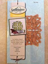 Spellbinders D-Lites Die ~ GRATE WORKS  1 Templates ~ S2-019 New