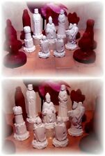 Gießform  für ein Schachbrett 32 x 32 cm Gießformen   schachfiguren schachspiel