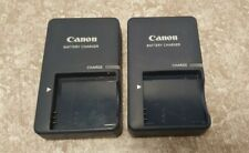 Two (2) Genuine Canon Battery Charger CB-2LV G Genuine