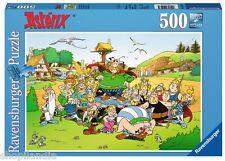 PUZZLE RAVENSBURGER 14197 EL PUEBLO DE ASTERIX 500 Piezas Pieces Peças Jigsaw