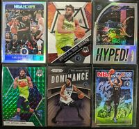 Lot of (6) Karl-Anthony Towns, Including NBA Hoops /199, Prizm/Mosaic parallels
