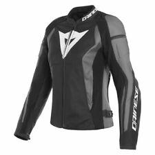 New Dainese Nexus Leather Jacket Women's EU 44 Black/Black/Ebony #2533816Y2144