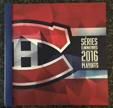 2016 Montreal Canadiens Playoff Ticket Booklet W/ All Tickets NHL