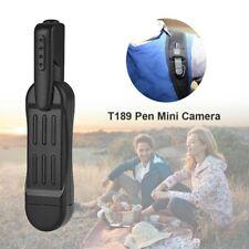 T189 Pen Mini Camera Full HD 1080P Hidden Spy Wearable Body DVR Recorder -UK