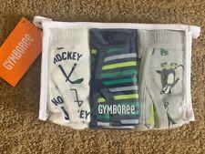 Nwt Gymboree Boys Briefs Underwear Hockey 3 Pack Medium 7-8