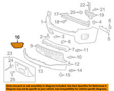 Chevrolet GM OEM Front Bumper-Foglight Fog Light Bezel Trim Left 22891702