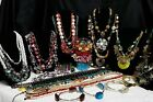 Huge+4.7lbs+Vintage+To+Modern+Stone+And+Shell+Jewelry+Lot+Estate+Wearable