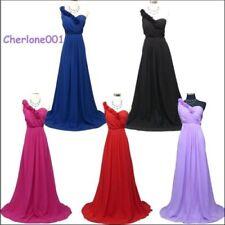 Cherlone Chiffon One Shoulder Dresses