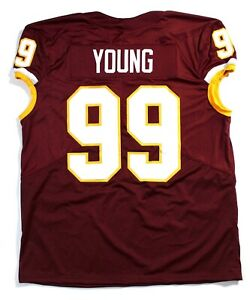 Unsigned Custom Stitched Chase Young Game Day Cut Jersey (2XL) Washington