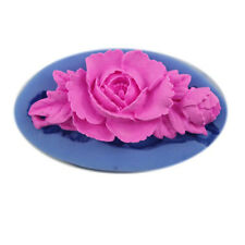 3D Silicone Gel Resin Flower Plum Soap Mold Mould Handmade Craft Practical Hot