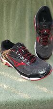 Mizuno Wave Inspire 13 Men's Running Shoe Size 9M Color Gray with Black & Red