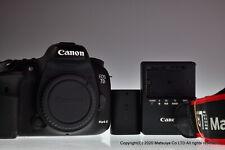 Casi Mint Canon EOS 7D Marca II 20.2MP Cuerpo de la Cámara Digital