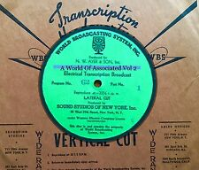 VOL. 2 - 1930's World Of Associated Dance Band Radio Transcriptions on CD  VOL2