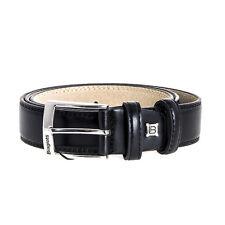 Or A0624 Cintura Uomo Laura Biagiotti Nera Pelle 110/125 cm outlet AFFARE alla