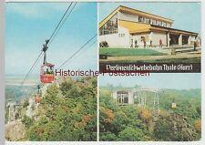 (83402) AK Thale, Harz, Schwebebahn, Bergstation 1985