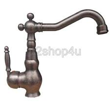 Antique Copper Single Handle Swivel Kitchen Sink Faucet Mixer Basin Tap Unn021
