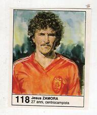 Figurina picture cards NEW IL GIORNALINO MUNDIAL 82 1982 N. 118 ZAMORA