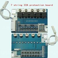 Protection Board for 7 Packs 25.9V BMS Li-ion Lithium 18650 charger O/P max. 22A