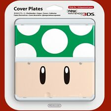 COVER PLATES Toad Green - New Nintendo 3DS ~ Brand New & Sealed