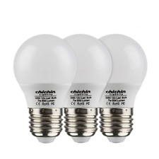 ChiChinLighting- Pack of 3 Bulbs 12v 7watt low voltage LED Light Bulb- E26/E27