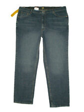 Lee Men Big Tall Premium Select Relaxed Straight Leg Jean Serpent Size 44 46 New