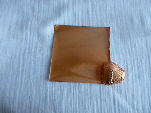 40 - 50 Square Foil Wrappers in  Copper  for Chocolates & Sweets. 80mm x 80mm.