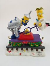 The Simpsons Christmas Express Train FRINK LABORATORIES Figurine