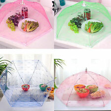 Cucina cibo copertura Umbrella Picnic Barbecue PARTY FLY zanzara Net Mesh tenda NUOVO