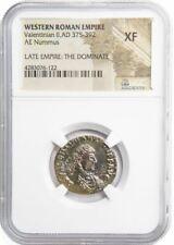 Roman AE2 of Valentinian II (AD375-392)NGC (XF)