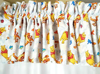 Disney Winnie The Pooh & Tigger Window Valence 84 x 15 Nursery  Poly Cotton USA