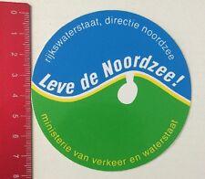 Aufkleber/Sticker: Leve De Noordzee-Ministerie Van Verkeer/Waterstaat(260516128)
