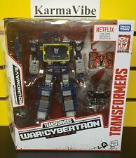 Transformers War for Cybertron Series Soundwave Battle 3 Pack Set Netflix - NEW
