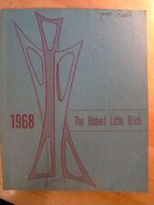 Hobart Indiana IN Junior High School 1968 Annual Year Book Little Brick Yearbook