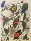 Joan Miro La Encre I Original Color Lithograph Art Surreal 1972 Modern Art