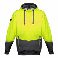 Syzmik Workwear Unisex Hi Vis Textured Jacquard Hoodie ZT477
