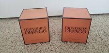 Henri Bendel Lot Of 2 Mandarin Orange Candles-NEW