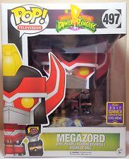 Funko Pop Megazord # 497 Power Rangers SDCC 2017 Exclusive 6 inch Figure