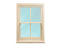 Timber Sash Windows - NEW -  ANY SIZE* - £399 - Double Glazed and Fully Painted