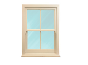 Timber Sash Windows - NEW -  ANY SIZE* - £379 - Double Glazed and Fully Painted