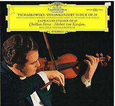 Tchaikovsky: Concerto Per Violino / Karajan, Ferras, Berliner - LP Dgg