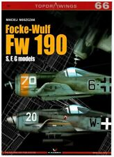 Focke-Wulf Fw 190 S, F, G models - TopDrawings, KAGERO + Free Mask Foil *N*E*W*