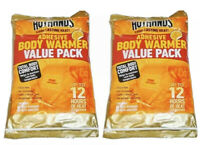 HotHands Adhesive Body Warmer Value Pack  16 Warmers  12 hrs  2 Pack
