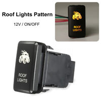 Dual LED Light Bar Roof Light Push Button ON/OFF For Toyota Landcruiser   +